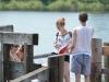 Befragung an der Alten Donau