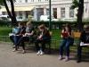 Fragebögen am Keplerplatz